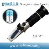 Refractómetro original del jugo de la haba del instrumento óptico de la alta calidad de Lohand (LH-D25)