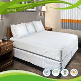 シングル・ベッドはベッドバグカバーポリエステルによって編まれたマットレスのカバーに合った