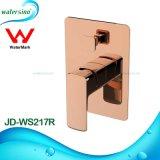 Golden 2 vias chuveiro de mão de água com alta qualidade de mistura