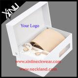 Somente jacquard Seco-Limpo laços de seda tecidos dos presentes relativos à promoção com caixa