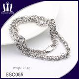 De nieuwe Armband van de Ketting van het Roestvrij staal van de Juwelen van de Douane van het Ontwerp