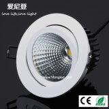 Luz ahuecada Downlight 20W de la MAZORCA LED del precio de fábrica para la alameda de compras