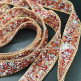 2017 Fix новой цепи камня стеклянной бусины красного цвета 20mm затыловки горячий для тканиь (TP-050)