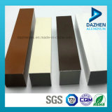 Uso de alumínio da mobília do perfil para o perfil da borda do frame de gabinete