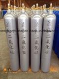 cilindro de gás do aço sem emenda do hélio 41.5L com válvula de Qf-2D