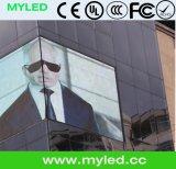 Visualización de LED transparente del modelo nuevo P10, conveniente para la demostración de la ventana