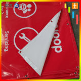 Produire le drapeau de PVC Frontlit de publicité d'Internet