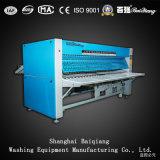 La ISO aprobó el lavadero industrial Flatwork Ironer (el gas) de tres rodillos (2800m m)