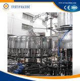 Caixa 3No1 máquina de enchimento de garrafas de vidro/equipamento