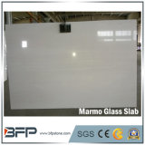 Nano стеклянные слябы Marmo для чисто белого выкристаллизовыванного Nano камня