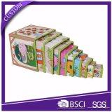 Boîte-cadeau rigide personnalisée d'emboîtement pour l'empaquetage de jouets d'enfants