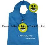 Bolso de compras reutilizable plegable de la promoción del estilo del bigote