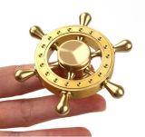Girador de alta velocidade da inquietação camuflar dos brinquedos do girador da mão da inquietação 608 do girador do dedo da esfera de rolamento