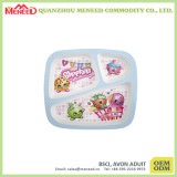 Beautiful Design BPA Free Kids usam placa de jantar de melamina segura