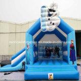 Heiße Verkaufs-Unterhaltung scherzt Park-aufblasbares federnd Schloss gefrorenes springendes Schloss