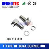 Montaje PCB de 28 mm de 90 grados F Tipo conectores hembra