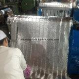 La chaleur rayonnante réfléchissant haute température de l'aluminium recouvert de ruban de fibre de verre