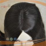 Spitzenverkaufenartdunkler Brown-Farbemischbrown-Farben-weiße Haut-oberste jüdische reine Perücke