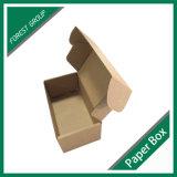 [بروون] لون يغضّن صندوق مع قلب علامة تجاريّة طباعة