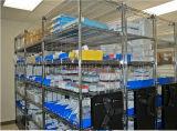 Prateleira ajustável do armazenamento do hospital do aço de cromo das séries do NSF 5