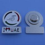 Regali caldi e nuovi del distintivo di Pin del risvolto dello smalto di giorno nazionale dei UAE quarantacinquesimi