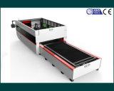 Machine de découpe au laser à fibre numérique CNC 3000W pour feuilles de métal (FLX3015-3000W)