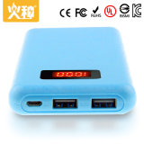 Batería portable modificada para requisitos particulares D83 de la potencia del teléfono móvil del color con la visualización de LED