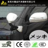 Auto tampa lateral do espelho para a decoração do auto acessório do cromo do carro de Toyota Haice