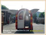 Gelato del rimorchio del gelato dell'acciaio di Ys-FT350b 3.5m Van con 4 Windows