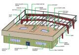 Tela de construcción del diseño del acero prefabricado Estructura Almacén