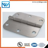 Aço ou dobradiça de porta H63 de cobre (dobradiça de extremidade do molde de 3.5 polegadas)