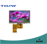 Pulgada industrial TFT del uso 5.0 con la resolución 800*480