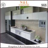 Armário de lavatório personalizado Laquer Kitchen Gabinete