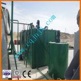 Planta de tratamento de mudança de cor de óleo de lubrificante usado preto