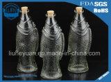 творческая флористическая бутылка питья вазы 500ml желая стеклянную бутылку