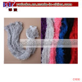 Écharpe en soie Écharpe en polyester Écharpe blanche Écharpe à cheval Yiwu Fret (C1026)