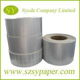 PVC que imprime la escritura de la etiqueta