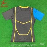 T-shirt à séchage rapide d'impression d'écran en soie de premiers vêtements de sport de vente de Healong