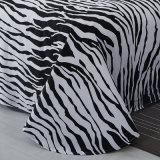 Black and White Reactive print Cotton Bedding Home Textile