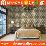 InnenHome Decorative PVC Vinyl Deep Embossed Wallpaper Factory für Office