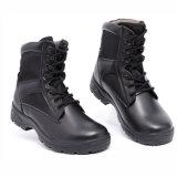 Em couro de qualidade CE botas militares