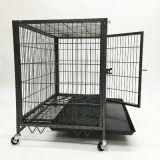 Conteneur de tube carré de la Chambre de la cage de chien