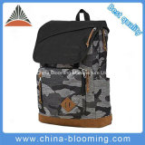 Sacola Unisex Camo School Book Travel Sports Backpack