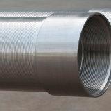 Cable de la cuña de acero inoxidable Pantalla/Pozo de agua de la pantalla Johnson Tubo con cierre roscado