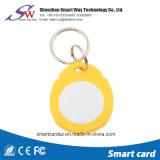 ABS NFC RFID Keychain van de Vorm Ntag213 van de Prijs van de fabriek Cirkel