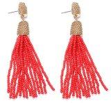 Accessoires de Mode cordon Dangle Earrings perlé Tassel Earrings