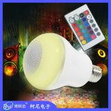 Commande à distance haut-parleur Bluetooth Ampoule LED RGBW