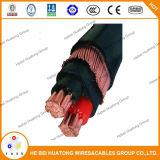 0.6/1kv XLPE Conductor de cobre aislado Cable concéntrico 3*8AWG 3*10 AWG