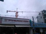 60mのジブの長さの油圧8tタワークレーン