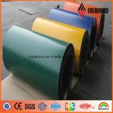 PVDF 알루미늄 합성 위원회 색깔 코일 알루미늄